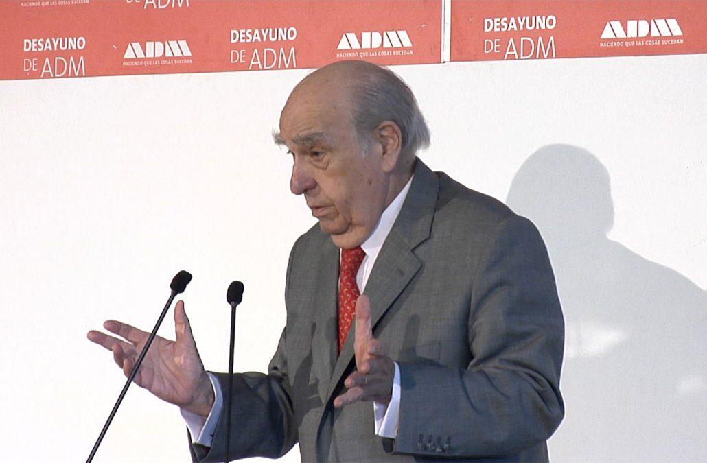 Sanguinetti en ADM fue muy crítico con el MIDES