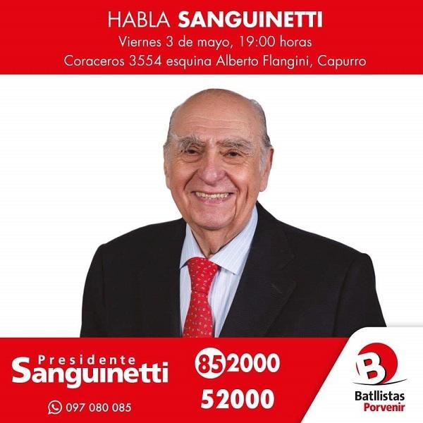 Acto en Capurro Listas 85 2000 y 5 2000