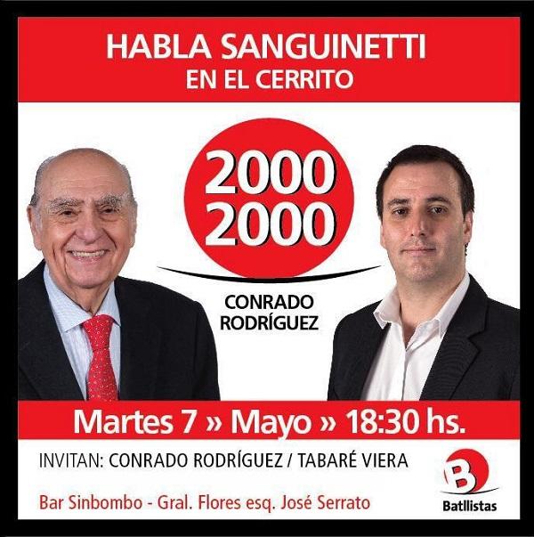 Reunión en el Cerrito Lista 20002000