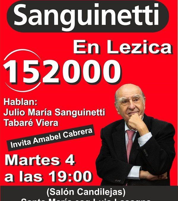 Sanguinetti en Lezica