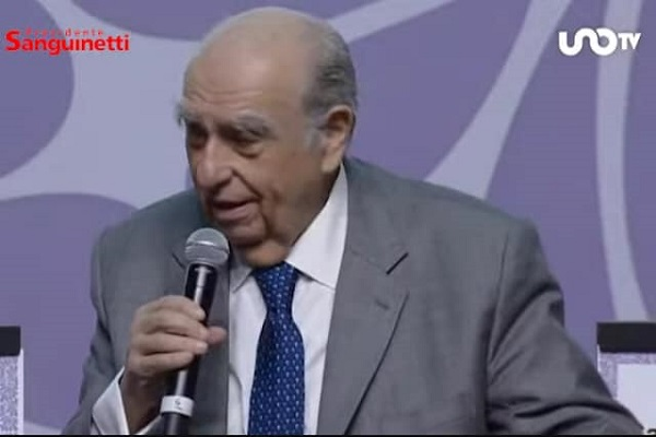 Sanguinetti cuestionó a Trump