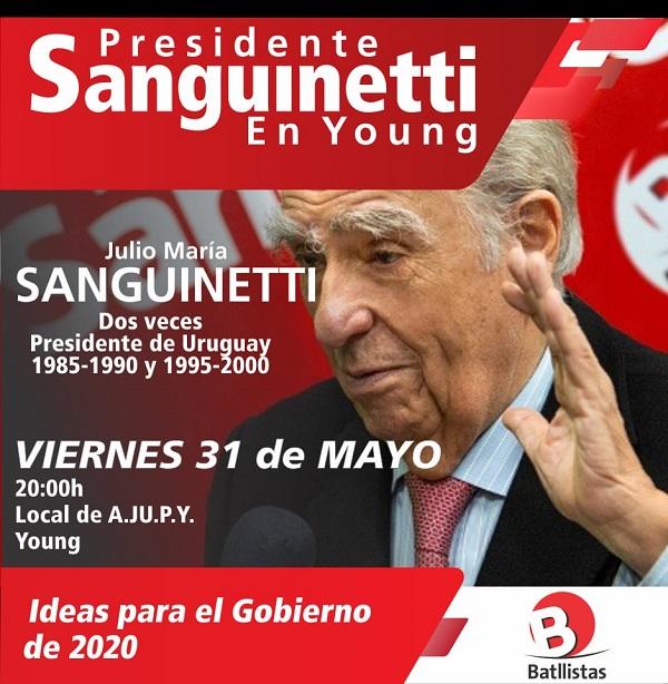 Sanguinetti en Young