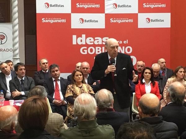 Sanguinetti: ¨El Estado está hipotecado¨