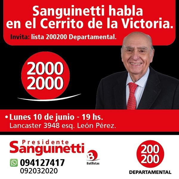 Sanguinetti en el Cerrito – Lista 20002000