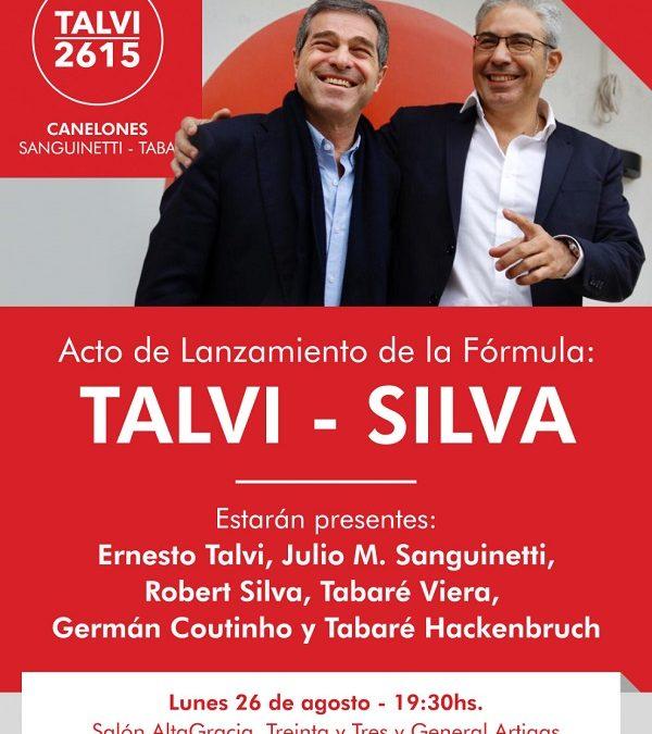 Lanzamiento Fórmula Talvi – Silva en Canelones