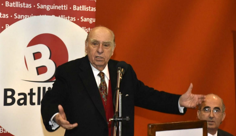 """Sanguinetti cuestionó al gobierno por """"esconderse atrás de un juez"""" en el caso Petrobras"""