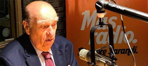 """Sanguinetti: """"El Frente Amplio no es Batllismo"""""""