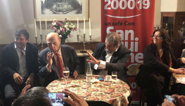 «La búsqueda de restos de desaparecidos es una causa sagrada», dijo Sanguinetti