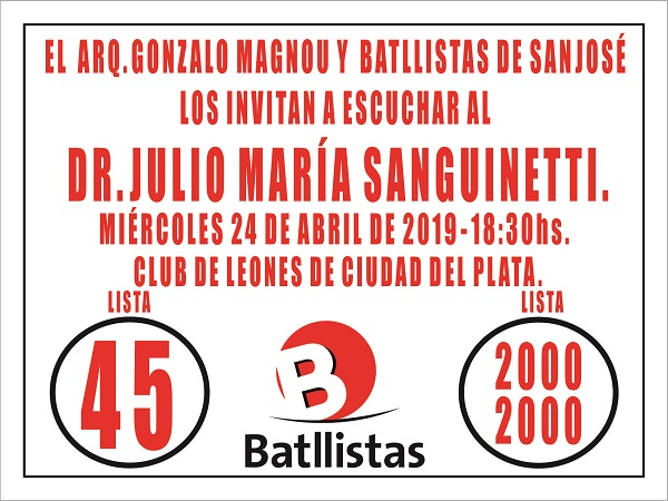 Acto en Ciudad del Plata (San José)