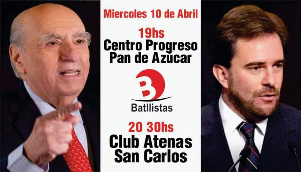Actos en Pan de Azúcar y San Carlos (Maldonado)
