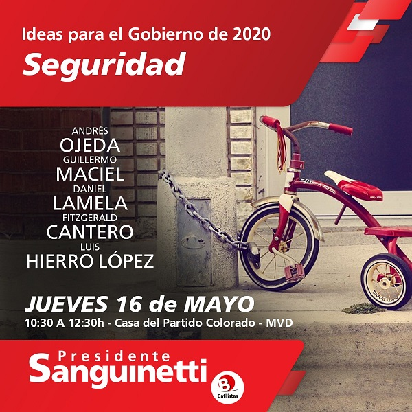 Ideas para el Gobierno de 2020: SEGURIDAD