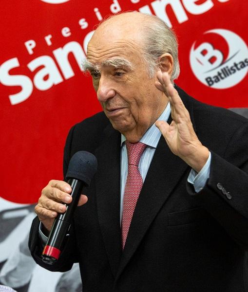 Sanguinetti: ¨Las políticas sociales las inauguró el Batllismo¨
