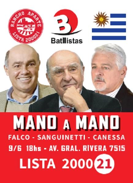 Sanguinetti en Carrasco – Lista 2000 21